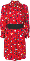 Marc Jacobs floral print shirt dress - women - Silk - 0