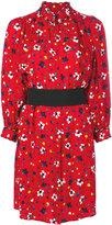 Marc Jacobs floral print shirt dress - women - Silk - 6
