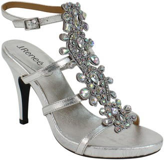 J. Renee High Ankle Strap Sandals - Evadine