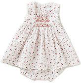 Edgehill Collection Baby Girls 3-24 Months Rose Print Dress
