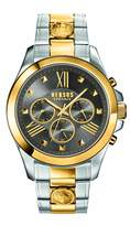 Versus By Versace Men's 'CHRONO LION' Quartz Stainless Steel Casual Watch, Color: (Model: SBH060015)