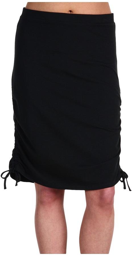 Carve Designs Monaco Side Cinch Skirt (Black) - Apparel