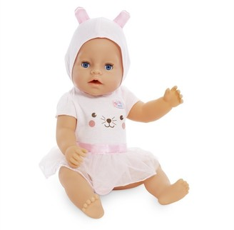 Mga Baby Born Interactive Baby Doll Blue Eyes
