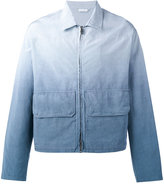 Jil Sander degradé effect jacket - men - Cotton/Viscose - 48