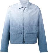 Jil Sander degradé effect jacket - men - Cotton/Viscose - 50
