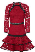 Alexis Kharis Lace Mini Dress