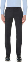SLOWEAR Herringbone wool trousers