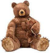 Melissa & Doug Plush Brown Bear and Cub