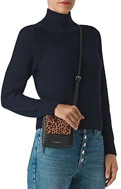 Whistles Puffed-Shoulder Sweater