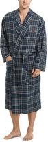 Polo Ralph Lauren Plaid Cotton Flannel Robe