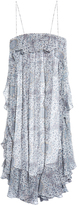 Zimmermann Empire mist-print silk-chiffon dress
