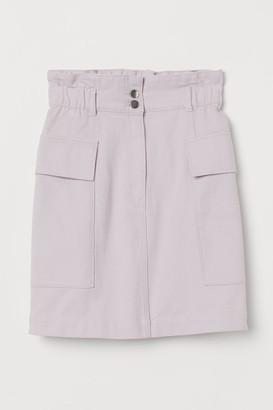 H&M Utility Skirt - Purple