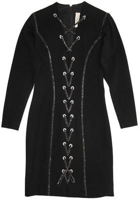 Bob Mackie Black Wool Dress for Women Vintage