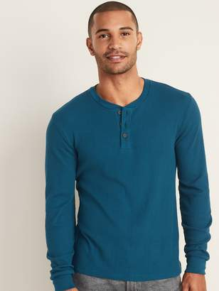 Old Navy Thermal-Knit Henley for Men