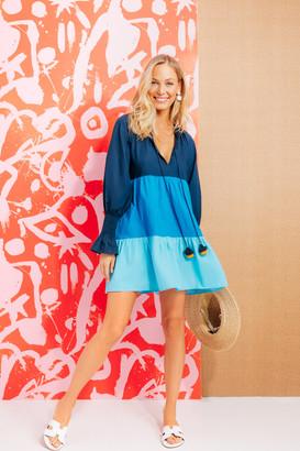 Figue Blue Bella Short Dress