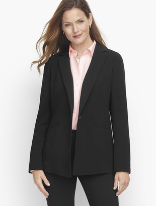 Talbots Easy Travel Single Button Blazer