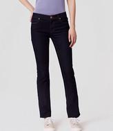 LOFT Tall Curvy Skinny Jeans in Dark Rinse Wash
