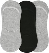 M&Co Plain footlet socks pack of three pairs
