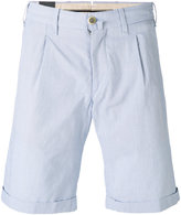 Lardini cuffed pleated shorts - men - Cotton - 46