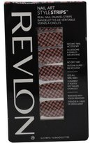 Revlon Nail Strips (fashion hound) 16 strips-- first one on left in picture