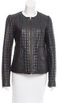 Joie Quilted Leather Jacket