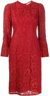 Sachin + Babi Embroidered Lace Dress