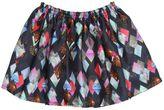 Anne Kurris Digitally Printed Silk Satin Skirt