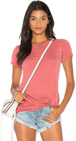 Bobi Twist Front Tee in Red. - size XS (also in )