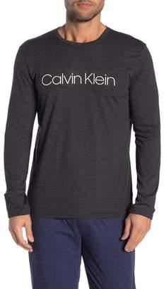 Calvin Klein Crew Neck Long Sleeve T-Shirt