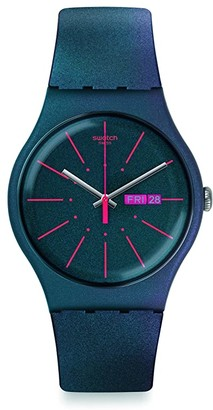 Swatch New Gentleman - SUON708 (Blue) Watches