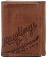 Rawlings Sports Accessories Fielder&s Choice Leather Tri-Fold Wallet