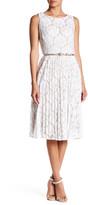 Eliza J Sleeveless Lace Dress