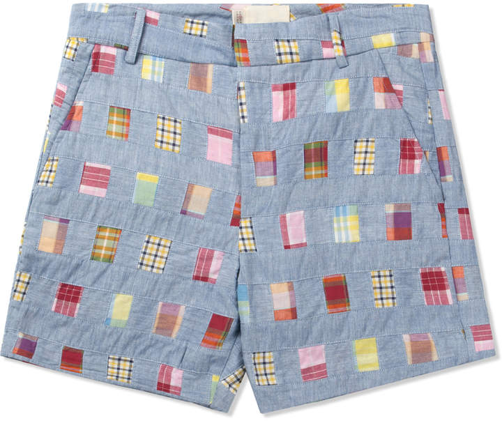 Band Of Outsiders Multicolor Tailored Shorts