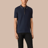 Burberry Contrast Tipping Cotton Piqué Polo Shirt