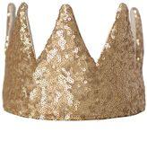 Marie Chantal Girls Crown - Matte Gold