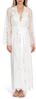 Jonquil Lace Bell Sleeve Maxi Robe