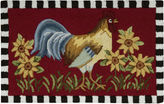 Nourison Rooster Washable Rectangular Rug