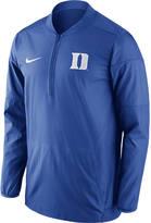 NIKE TEAM Men's Nike Duke Blue Devils College Lockdown Quarter-Zip Jacket