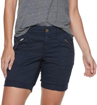 Sonoma Goods For Life Petite Utility Cuffed Bermuda Shorts