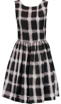 Marc by Marc Jacobs Printed Cotton And Silk-Blend Mini Dress