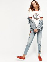 Driftwood Marilyn Embroidered Skinny Jeans by at Free People