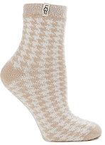 UGG Houndstooth Jacquard Anklet Socks