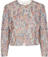Alice + Olivia Kidman embellished crepe jacket
