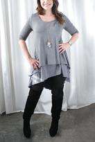 Nourish Collection Two Tiered Nursing Tunic