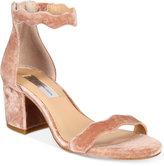 INC International Concepts Hadwin Scallop Block-Heel Sandals, Created for Macy's