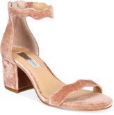 INC International Concepts Hadwin Scallop Block-Heel Sandals, Only at Macy's