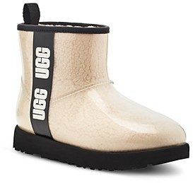 UGG Women's Classic Clear Mini Booties