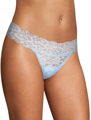 Maidenform Women's All-Over Lace Thong Panty DMESLT