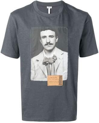 Loewe Charles Mackintosh print T-shirt