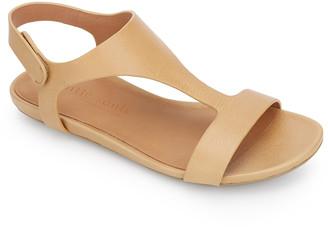 Gentle Souls by Kenneth Cole Women's Sandals TAN - Tan Lark Leather T-Strap Sandal - Women